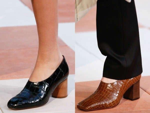 Серед взуття без каблука одним з яскравих явищ будуть туфлі на товстій  підошві. Їх можна назвати відмінним варіантом для осінньо-зимового періоду. 0a6cef66de612
