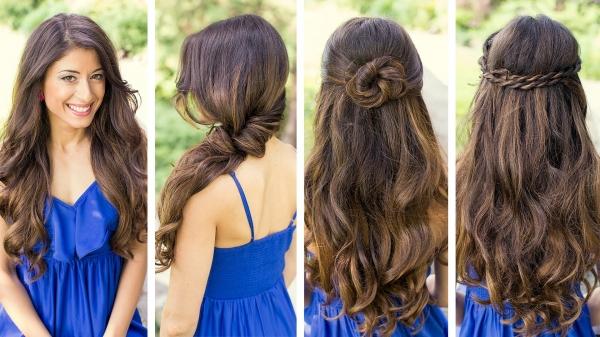 зачіски з розпущеним волоссям фото