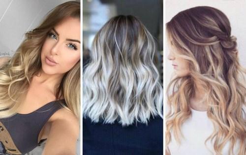 Покраска волос амбре