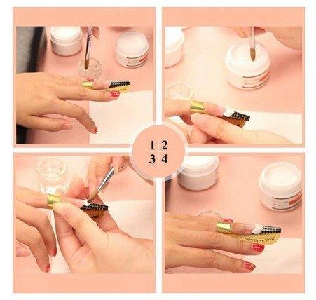 Как нарастить гелевые ногти пошагово пошаговые
