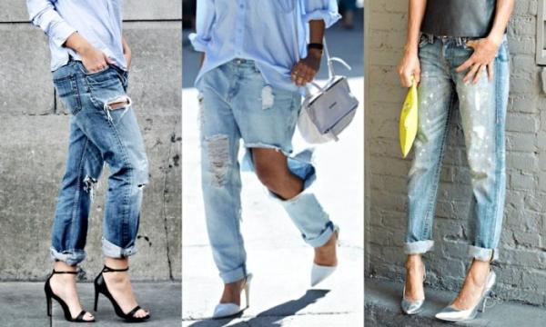 Как сделать джинсы рванки своими руками 47