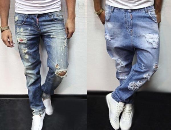 Як зробити рвані джинси в домашніх умовах своїми руками  9b20d0bdb5931